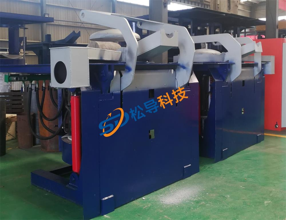 Steel induction furnace
