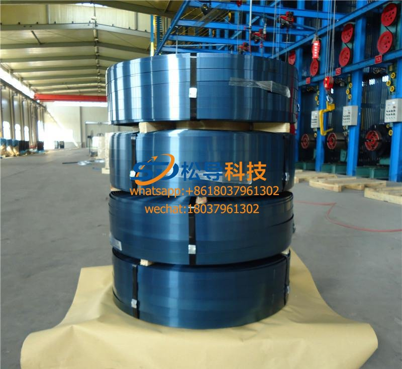 Steel belt heating to blue induction heating equipment
