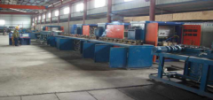 Rebar quenching and tempering production line