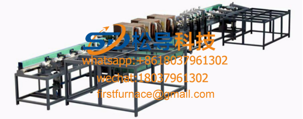 steel pipe heat treatment production line