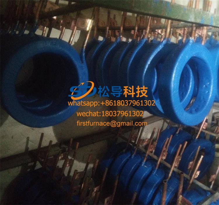 Reactor water-cooled coil