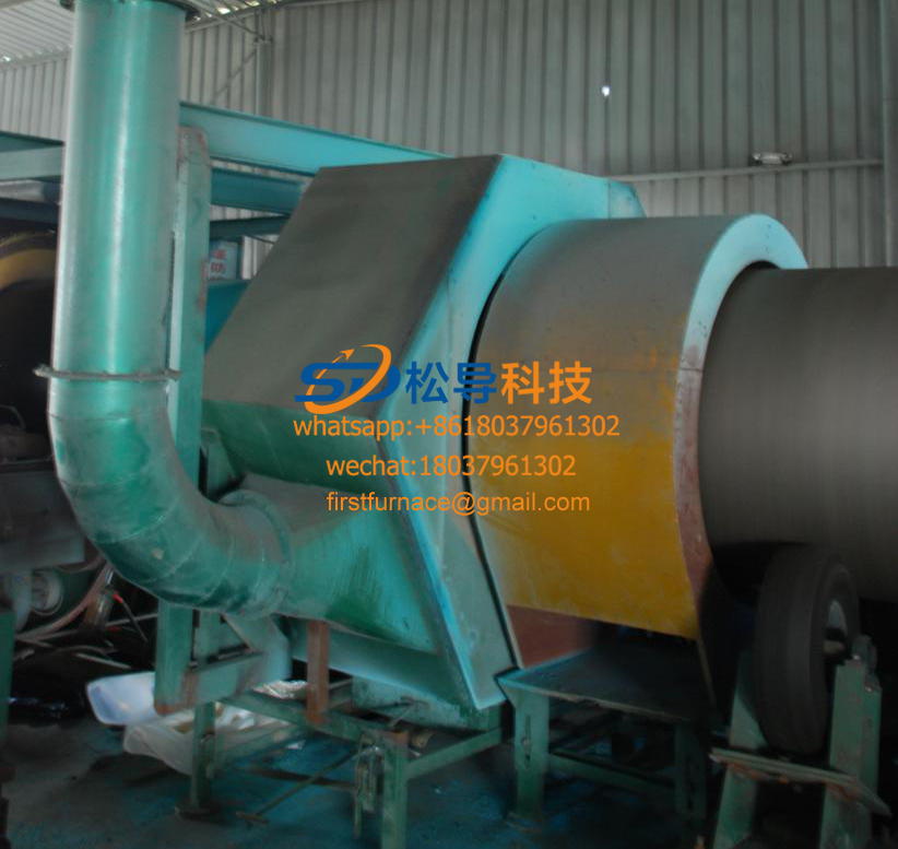 Ф219—Ф1220 steel pipe 3-layer PE anti-corrosion production line