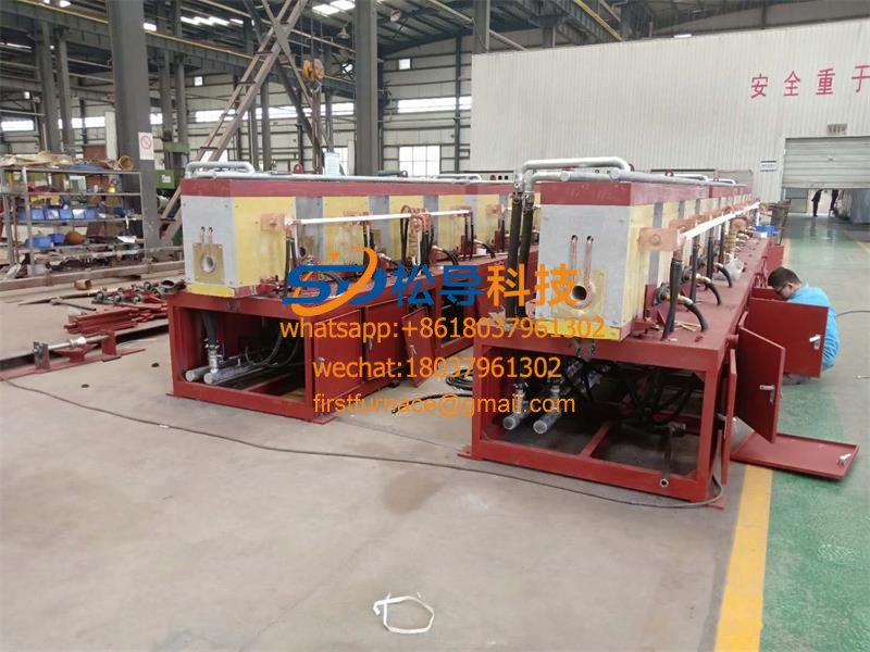 Copper tube annealing medium frequency induction equipment