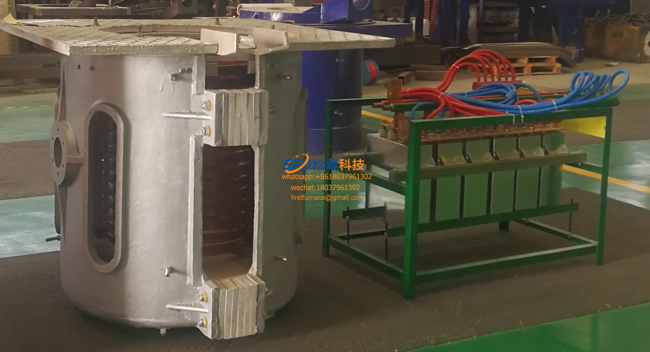 1T series intermediate frequency furnace