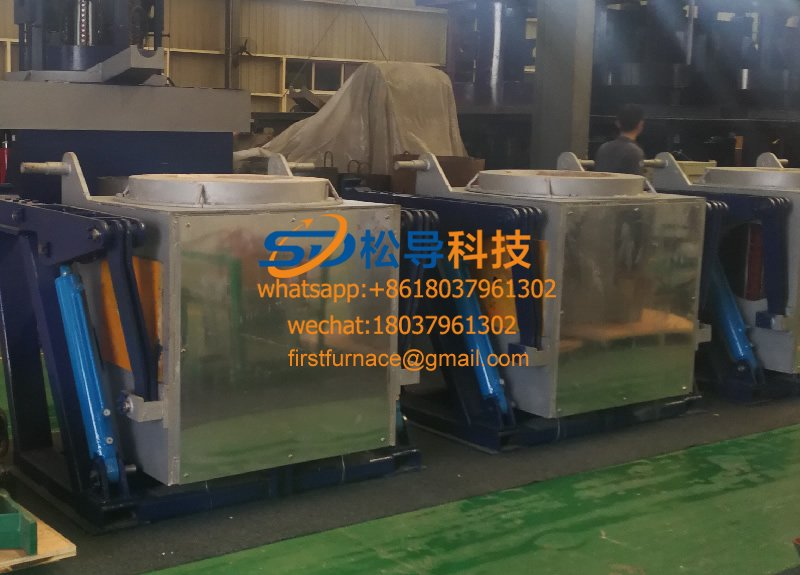 Medium frequency furnace for atomization and milling