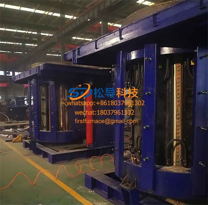 5T parallel intermediate frequency furnace