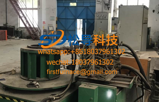 Motor end ring intermediate frequency brazing equipment