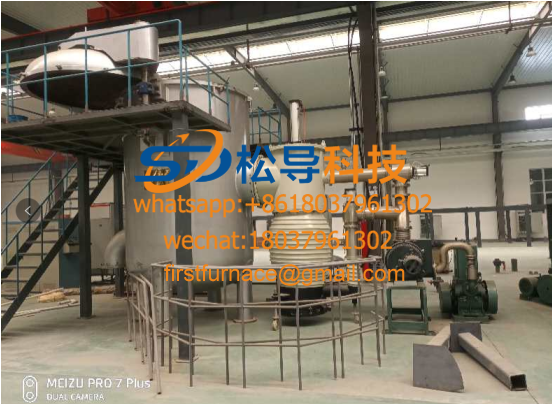 Medium frequency induction sintering furnace