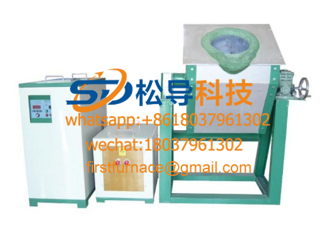 Electromagnetic copper melting furnace