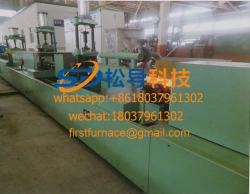 drill pipe quenching and tempering line