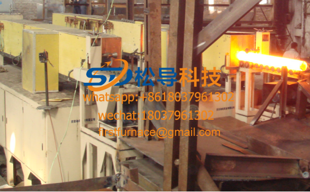1000KW bar medium frequency induction heating furnace