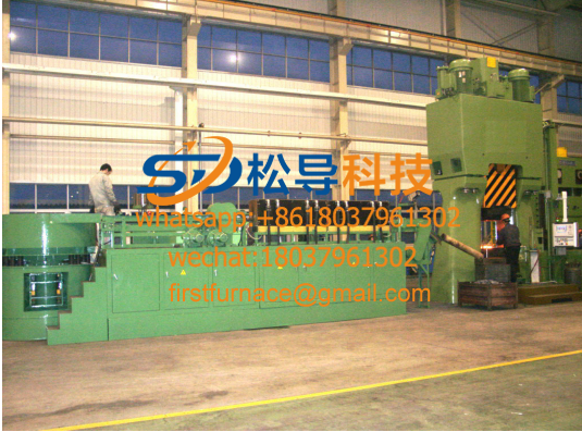 Steel tube heating furnace