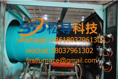 (φ48-φ159mm) 3PE steel pipe anti-corrosion production line