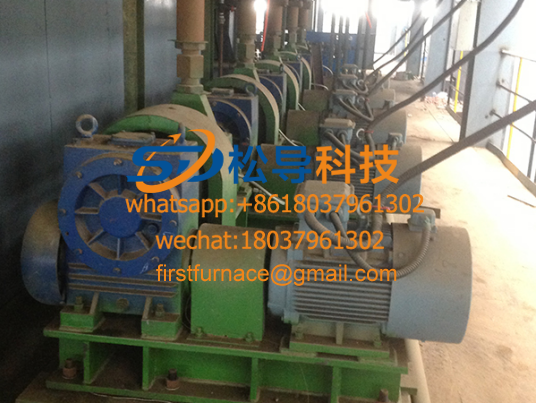Continuous casting machine vibration device