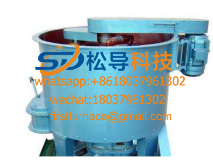 SD13 series rolling wheel rotor type sand mixer