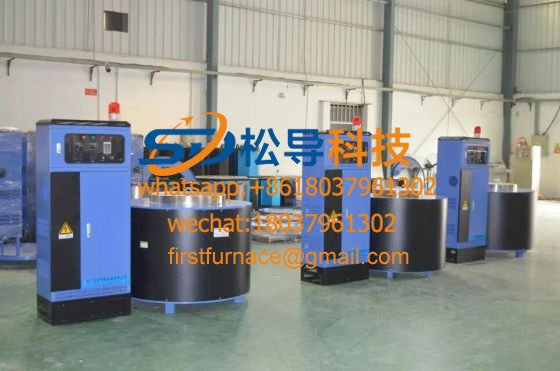 800KG electromagnetic melting aluminum furnace
