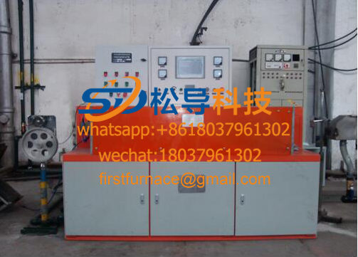 Copper rod intermediate frequency heating equipment