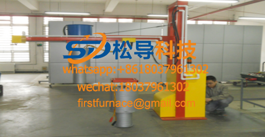 Gear heating automatic equipment
